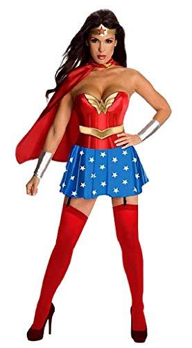 EVRYLON Kostüm wunderfrau - mädchen gekleidet Karneval sexy größe m Wonder Cosplay