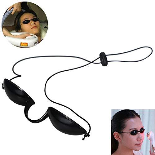 Peitten Sonnenbräunungsbrille UV-Schutz Sonnenbankbrille Sicherheit Solarium Schutzbrille Rotlicht Beauty Care Augenschutzbrille Eyepatch Eyeshields
