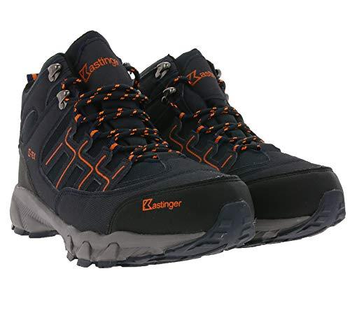 Kastinger Trailrunnter II Mid Wander-Boots leichte Damen Trekking-Schuhe Outdoor-Schuhe Halb-Schuhe Dunkel Navy, Größe:40