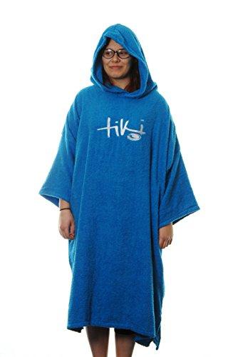 Tiki Bademantel Einheitsgröße blau