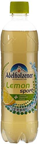Adelholzener Lemon Sport, 18er Pack, EINWEG (18 x 500 ml)