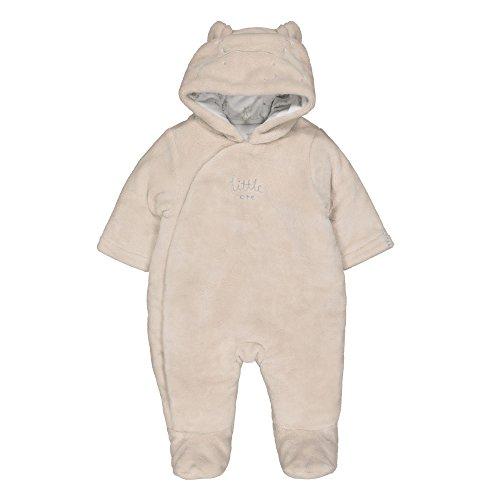 Mothercare Fluffy Novelty Pramsuit Body, Beige (Avena), 12 Meses Unisex bebé