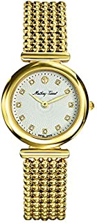 Mathey Tissot allure Women's White Dial Stainless Steel Band Watch - D539PI