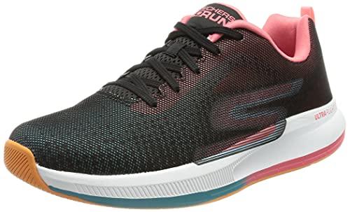 Skechers GO Run Pulse, Zapatillas para Correr Mujer, Bkmt, 37 EU