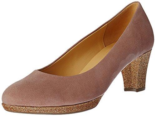 Gabor Shoes Damen Fashion Pumps, Pink (antikrosa/Honey 34), 38.5 EU