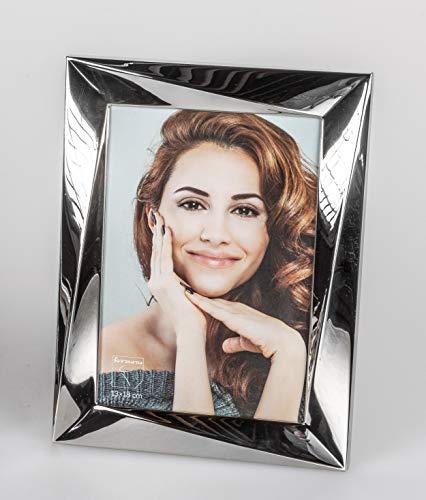 formano Fotorahmen, Bilderrahmen Triangle für Fotoformat 13x18cm Silber
