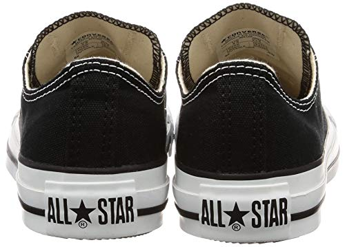 Converse Unisex Chuck Taylor All Star Low Top Black Sneakers - 9.5 B(M) US Women / 7.5 D(M) US Men