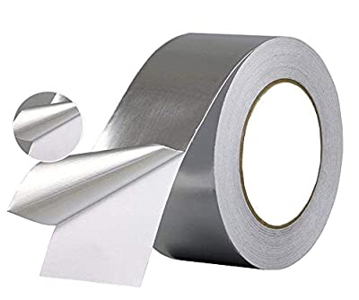 iPower Professional Grade Aluminum Foil HVAC Ducting Hose Repair Adhesive Tape