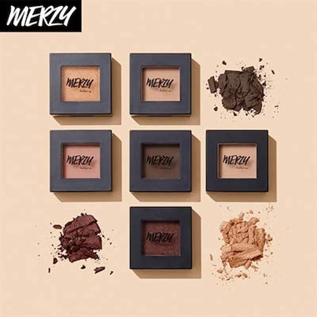 気になる褐色パラナ川MERZY THE FIRST EYE SHADOW 1+1 E3 JENNIFER BROWN