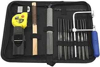 40 piezas de sierra curva para cortar hojas de sierra de cepilladora con bolsa de herramientas para trabajar la madera