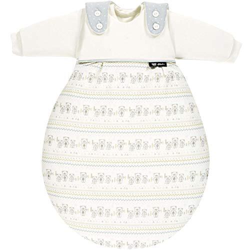 Alvi Baby-Mäxchen Schlafsack 3-teilig 56/62 Tipi Bear 922-0