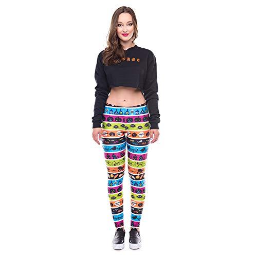 Dames bedrukte leggings Prom Performance kleding 2019 Halloween panty hip-up 3D stretch pantalon Pants