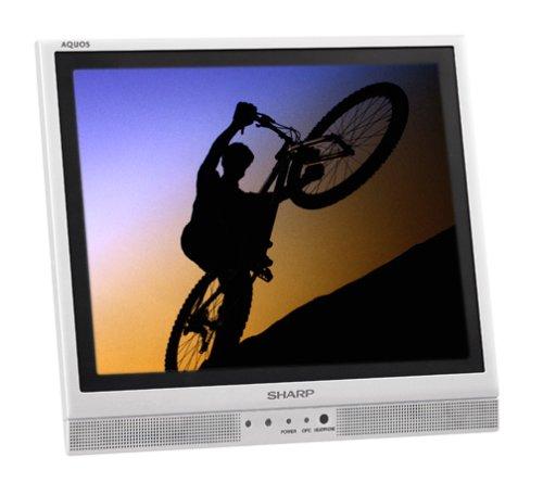 Sharp Aquos LC-13S1US 13-Inch Flat-Panel LCD TV, Silver