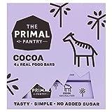 The Primal Pantry Barritas Energeticas (48 x 30g) - sin azúcar añadido, sin gluten, 100% Natural, Vegano, Paleo (Cacao)