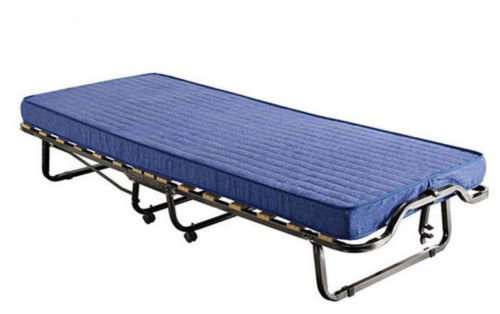Bed Store - Letto OSPITE Pieghevole Ortopedica A 15 DOGHE con Materasso H10 - BRANDINA