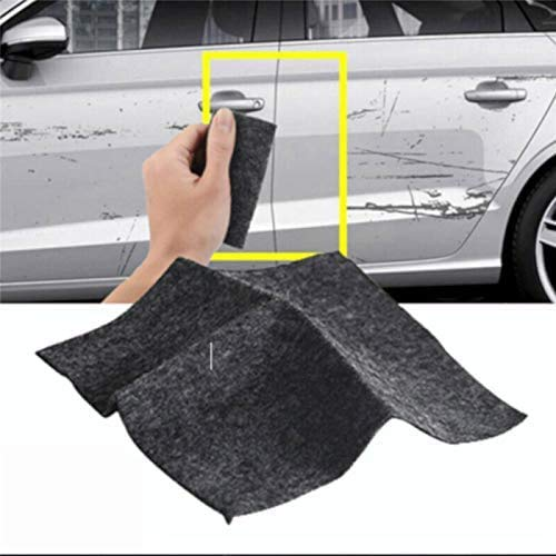 KRY Nano Magic Tuch für Autos,Nanomagic Tuch für Autokratzer Entferner Tuch Autokratzer Reparatur Tuch, Autolack Kratzer Reparatur 4Pc