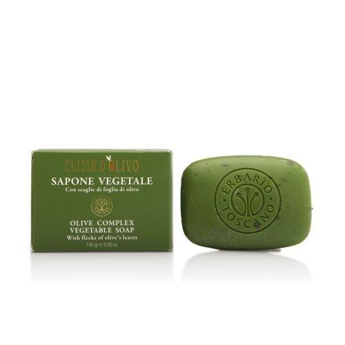 Erbario Toscano Olive Complex Vegetable Soap 4.93oz/140gr by Erbario Toscano