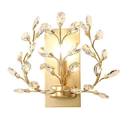 lámpara de Pared Lámpara de Pared de Cristal de la casa qwq y la lámpara de Pared del Dormitorio casero Cocina vestíbulo iluminación Aplique