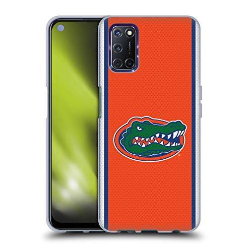 Head Case Designs Officially Licensed University of Florida UF Football Jersey Soft Gel Case Compatible with Oppo A72