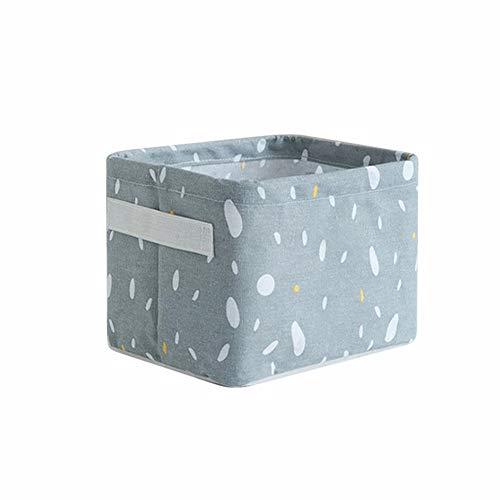A/N Alebaba Cesta de almacenamiento de escritorio impermeable, varios juguetes de ropa interior cosméticos papelería caja de almacenamiento cesta de lavandería
