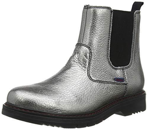 Richter Kinderschuhe Mädchen Prisma Chelsea Boots, Silber (Altsilber 9600), 33 EU