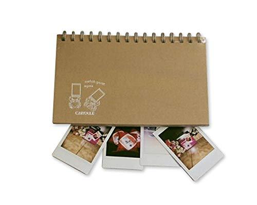 ds. distinctive style DSstyles Fotoalbum für Instax Mini 60 Taschen Kartenhalter Fotoalbum für Fujifilm Instax Mini Filme - Krabbe