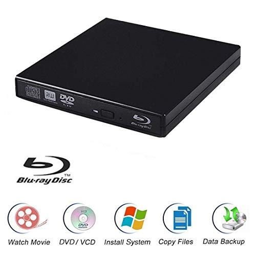 Blu-Ray Player Laptop External USB DVD RW Burner Drive
