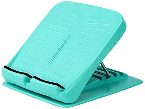 Ideal Swan Adjustable Slant Board Calf Ankle Stretcher Board Leg Musle Stretch Board for Hamstring Achilles Stretching, Portable Running Yoga Sports Accessories