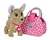 Smoby - Chichi Love - Showstar Happy Interactive - Peluche Interactive - + Sac de Transport et Collier