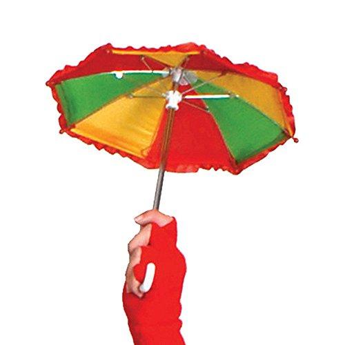 Fiesta Palace - parapluie clown rouge jaune vert 30cm