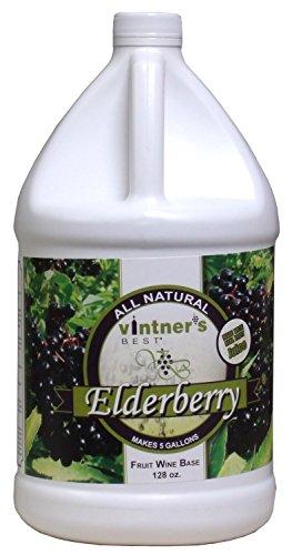 Vintner's Best - Elderberry Fruit Wine Base - 128 oz (1 Galllon)