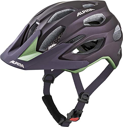 ALPINA CARAPAX 2.0 Fahrradhelm, Unisex– Erwachsene, nightshade, 52-57