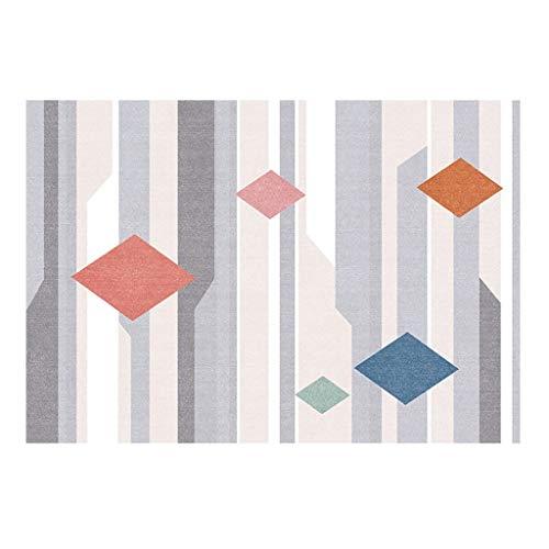 Ya-Ya tapijt, modern, minimalistisch, geometrisch, voor bank, nachtkastje, tapijt
