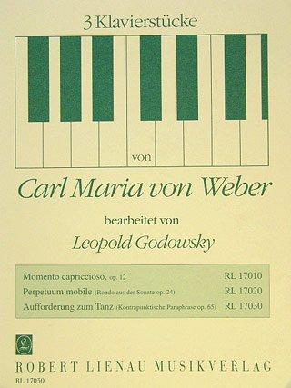 AUFFORDERUNG ZUM TANZ OP 65 - arrangiert für Klavier [Noten / Sheetmusic] Komponist: WEBER CARL MARIA VON - KLAV