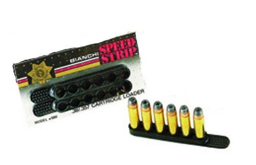 BIANCHI, 580 Speed Strip Pair.44/.45 Caliber, Black