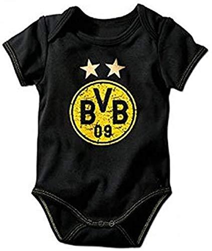 Borussia Dortmund Babybody/Body Emblem div. Größen BVB 09 - Plus gratis Aufkleber Forever Dortmund (62-68)