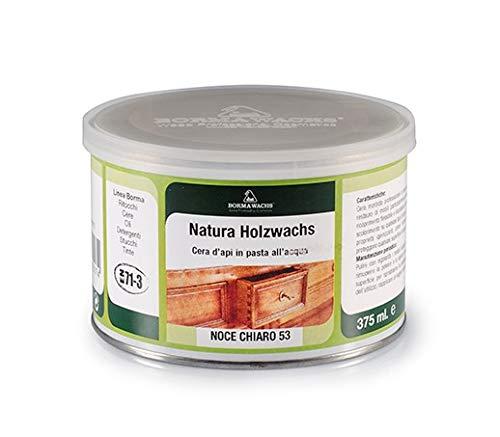 Möbelwachs farblos und geruchlos zur Holzschutz und Möbelpflege 375 ml bee wax NATURAQUA Holzwachs Wachs BORMA Holzschutzwachs transparent