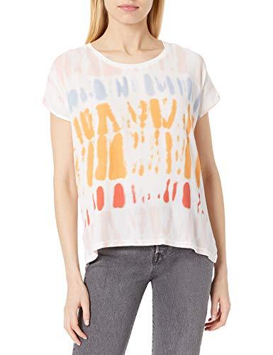 Desigual TS_Palmer Camiseta, Rojo, XL para Mujer