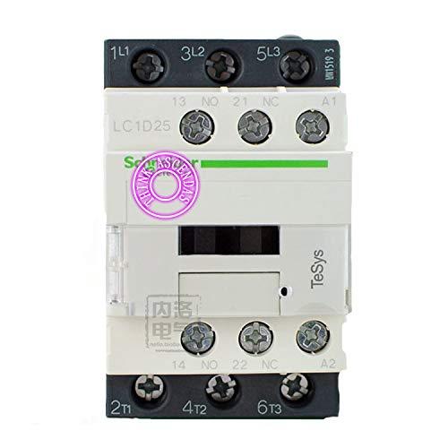LC1D Series Contactor LC1D25 discount AC San Antonio Mall LC1D25B7 24V LC1-D25B7