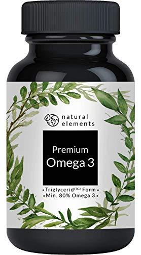 Omega 3 Fischöl Kapseln - Einführungspreis - 3-fache Stärke: GoldenOmega® mit 80{c58b3dce081d0af406a551ff768b8b4f3079454bb115ce2ccaf7adff7f37a144} Omega 3-Gehalt und in Triglycerid-Form - Laborgeprüft, aufwendig aufgereinigt und aus nachhaltigem Fischfang