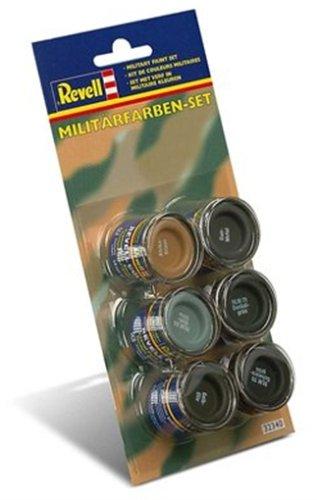 Revell 32340 Militärfarben-Set (6x14ml Farben) Modellbau-und Bastelzubehör, Farbset