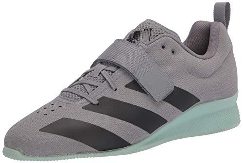 adidas Men's Adipower Weightlifting Ii Sneaker, Grey, 11 M US