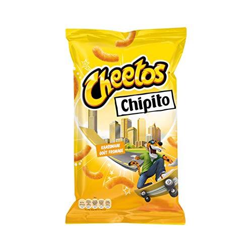 Patatas Fritas De Queso Cheetos | Cheetos | Chipito Kaas Chips | Peso total 115 gramos