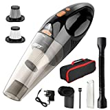 DOFLY Handheld Vacuum Cordless, 8500PA Super Suction Hand Vacuum Cleaner, Rechargeable Hand Vac with LED...