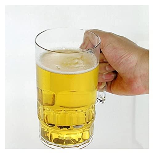 JSJJRFV Taza de Agua 3 tamaños de acrílico Copa de Cerveza KTV Taza de Cerveza Grande Taza de plástico Tazas de café Taza de Agua de café con Leche Barware Webware (Capacity : 790ml)