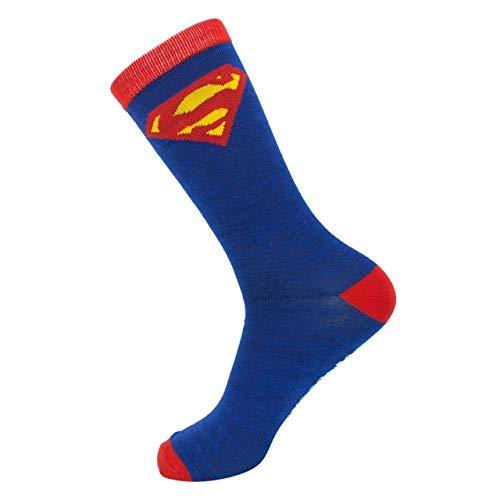 Superman Kostüm Crew Socken