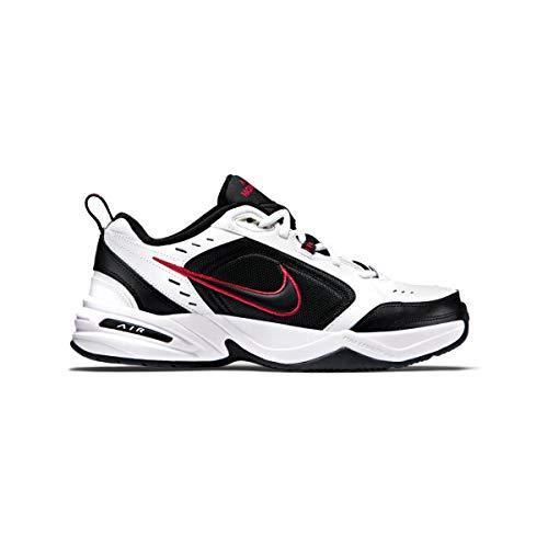Nike Air Monarch IV White/Black-Varsity Red
