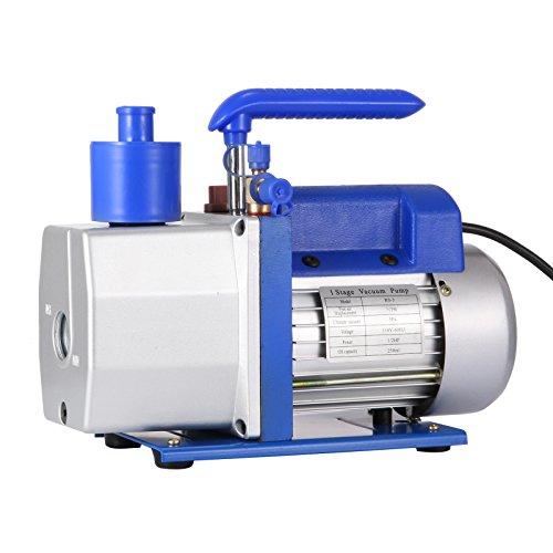 Mophorn Vacuum Pump HVAC 7 CFM 1/2HP Single Stage Vacuum Pump Refrigeration AC Air Conditioning Refrigerant Vacuum Evacuation Pump