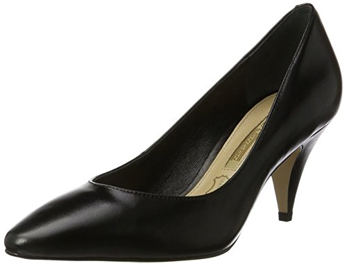 Buffalo London Damen ZS 7446-16 Nappa Pumps, Schwarz (Black 01), 39 EU