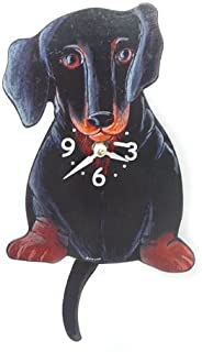 Best dachshund clock wagging tail Reviews